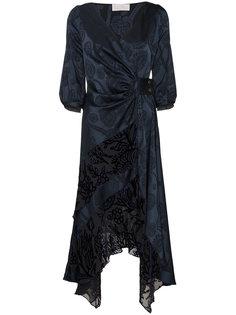"""длинное платье  с принтом """"пейсли"""" Peter Pilotto"""