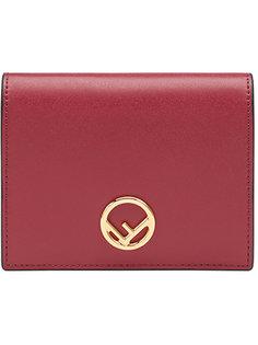 кошелек с логотипом F Fendi