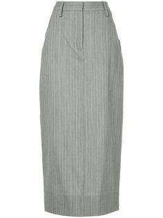 длинная юбка в полоску Christopher Esber