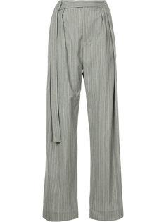 брюки с удлиненным поясом Christopher Esber
