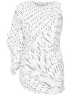 блузка с открытым плечом Christopher Esber