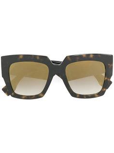 солнцезащитные очки в оправе квадратной формы Fendi Eyewear