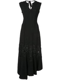 асимметричное платье с запазкой  Derek Lam