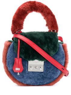 сумка на плечо с контрастной панелью Salar