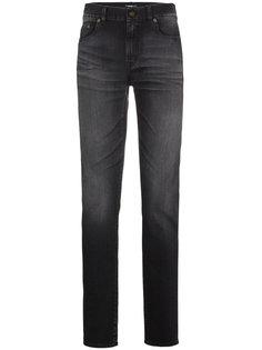 джинсы скинни с потертой отделкой Saint Laurent