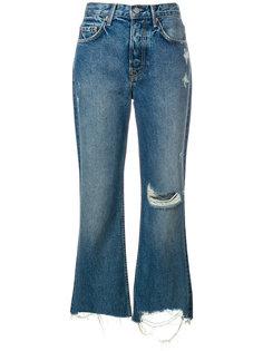 укороченные джинсы Grlfrnd