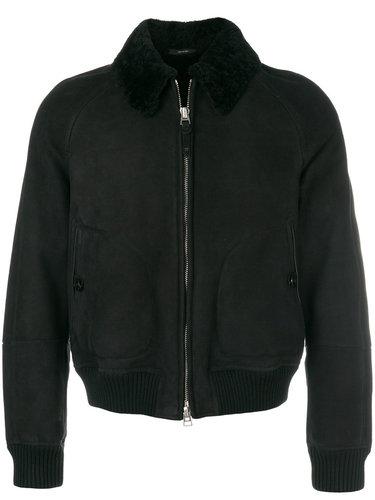 куртка-бомбер с накладными карманами Tom Ford