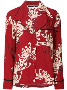 рубашка в пижамном стиле McQ Alexander McQueen