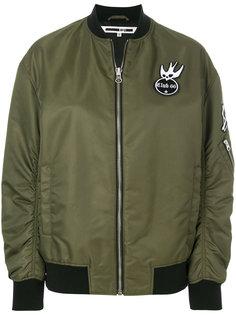 куртка-бомбер Swallow с заплатками McQ Alexander McQueen