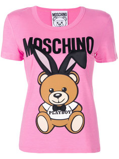 футболка Playboy Toy Bear Moschino