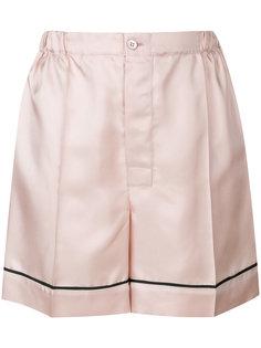 атласные пижамные шорты  Prada