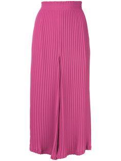 плиссированные брюки-палаццо Mm6 Maison Margiela