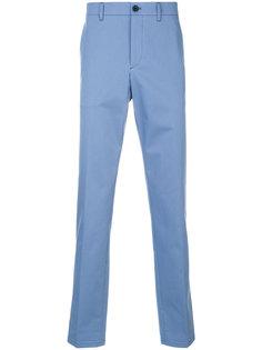 прямые брюки-чинос с манжетами Prada