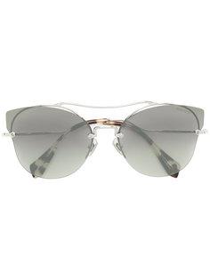 солнцезащитные очки формы кошачий глаз Miu Miu Eyewear