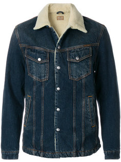 shearling denim jacket  Nudie Jeans Co