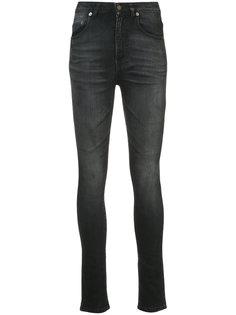 джинсы скинни с завышенной талией  Saint Laurent