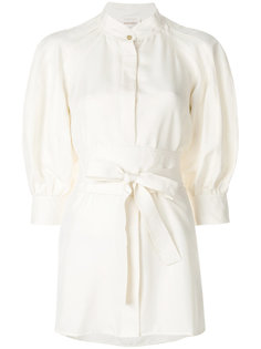 платье-рубашка с поясом Zimmermann