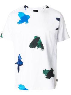 футболка с принтом мазков кисти Ps By Paul Smith