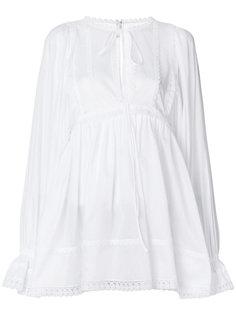 расклешенная блузка Dolce & Gabbana