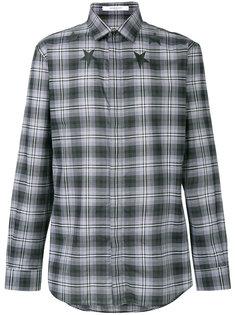 рубашка в клетку со звездами Givenchy