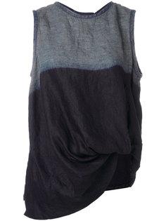 colour-block vest top Ys Y`s