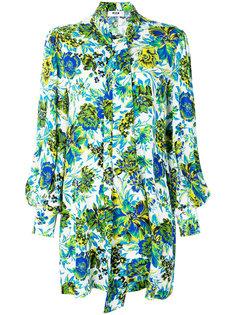 платье-шифт с завязкой на шее MSGM