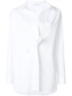 рубашка с узлом спереди Alberta Ferretti