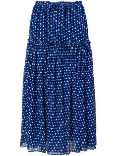 юбка со сплошным принтом Steffen Schraut