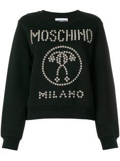 толстовка с вопросительными знаками Moschino