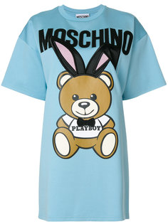 платье-футболка Playboy Toy Bear Moschino