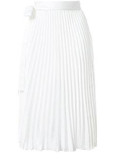плиссированная юбка миди  Patbo