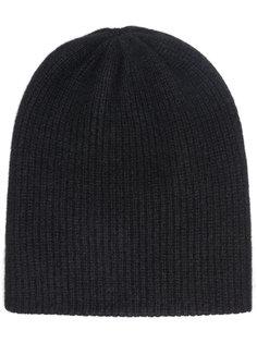 шапка-бини с ребристой фактурой The Elder Statesman