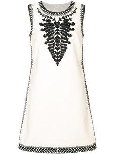 платье с вышивкой Tory Burch