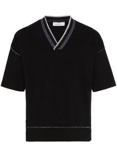 футболка с V-образным вырезом Jil Sander