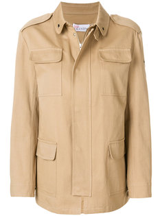 куртка в стиле милитари Red Valentino