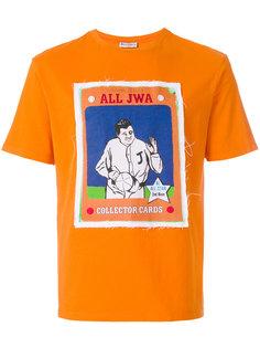 футболка baseball card  JW Anderson