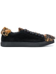 кроссовки с леопардовыми деталями Mr & Mrs Italy