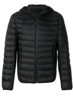 стеганая куртка с капюшоном Prada