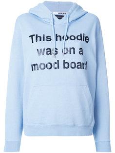 mood board print hoodie House Of Holland