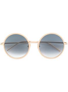 круглые солнцезащитные очки BC0045S Boucheron