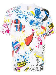 футболка со сплошным узором Versus