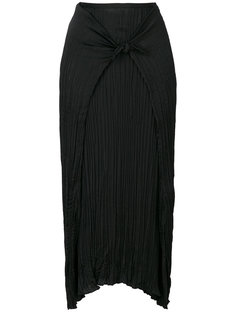 юбка с узлом спереди Vince