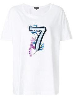 футболка с пайетками  Markus Lupfer