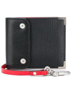 кошелек дизайна колор-блок Maison Margiela
