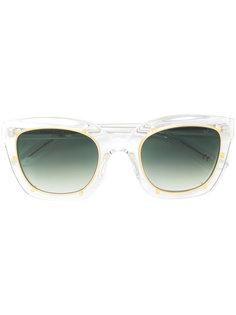 солнцезащитные очки в прозрачной квадратной оправе Robert La Roche