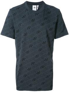 футболка с монограммным узором Adidas Originals Adidas Originals