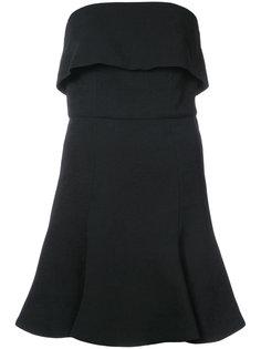 расклешенное платье-бюстье C/Meo