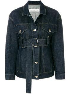 джинсовая куртка с поясом Golden Goose Deluxe Brand