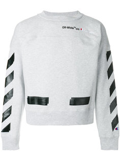 толстовка Off-White x Champion Off-White
