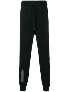 спортивные брюки с полосками Off-White